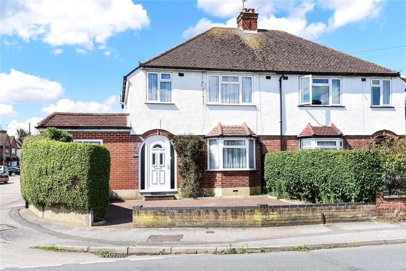 4 Bedrooms Semi Detached House for sale in Tudor Way, Mill End, Rickmansworth, Hertfordshire, WD3