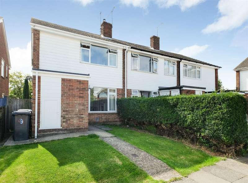 3 Bedrooms Semi Detached House for sale in Becket Close, WHITSTABLE, Kent