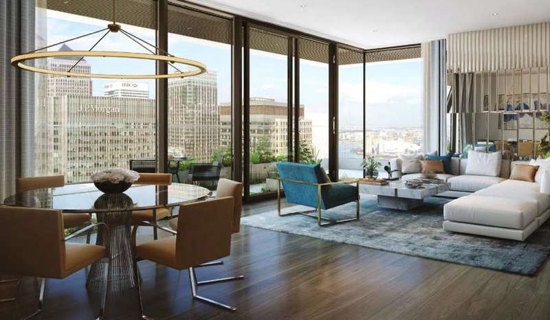 2 Bedrooms Flat for sale in East Tower, Wardian London, E14
