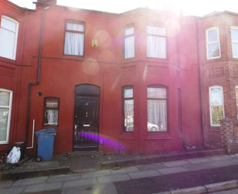 4 Bedrooms Terraced House for sale in St. Johns Avenue, Liverpool, Merseyside, L9 2BS