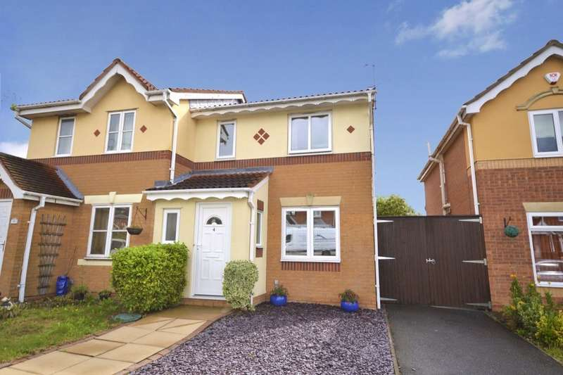 3 Bedrooms Semi Detached House for sale in Penkridge Road, Church Gresley, Swadlincote, DE11