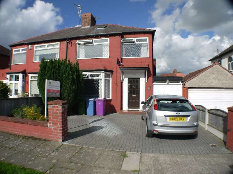 3 Bedrooms Semi Detached House for sale in Melbreck Road, Allerton, Liverpool, L18
