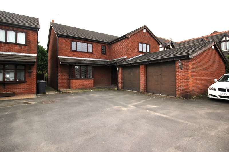 5 Bedrooms Detached House for sale in Bolton Road, Ashton-In-Makerfield, Wigan, WN4