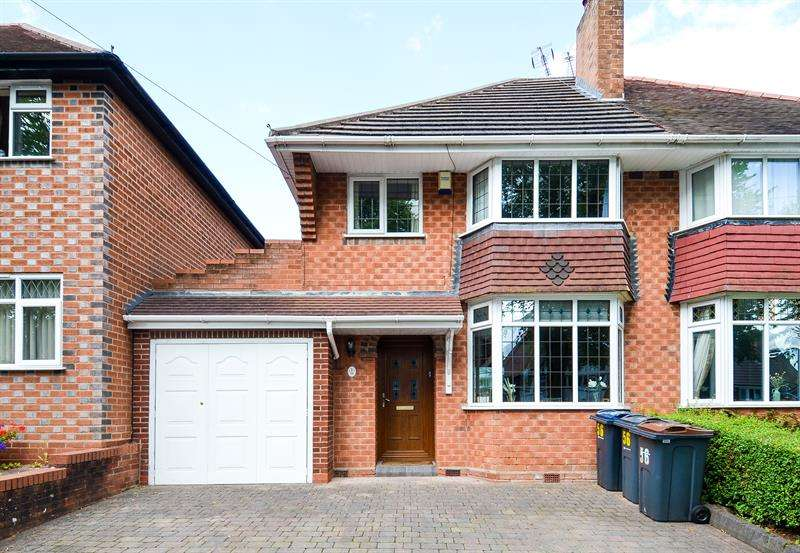 3 Bedrooms Semi Detached House for sale in Wychall Road, Northfield, Birmingham