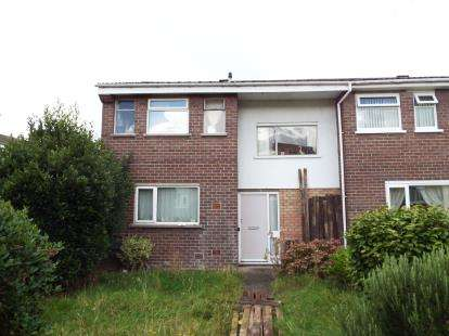 2 Bedrooms End Of Terrace House for sale in Cairns Crescent, Blacon, Chester, Cheshire, CH1