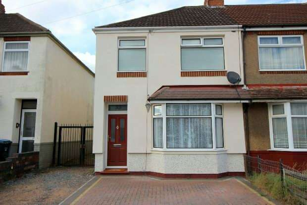 3 Bedrooms End Of Terrace House for sale in Rothesay Avenue, Tile Hill, Coventry