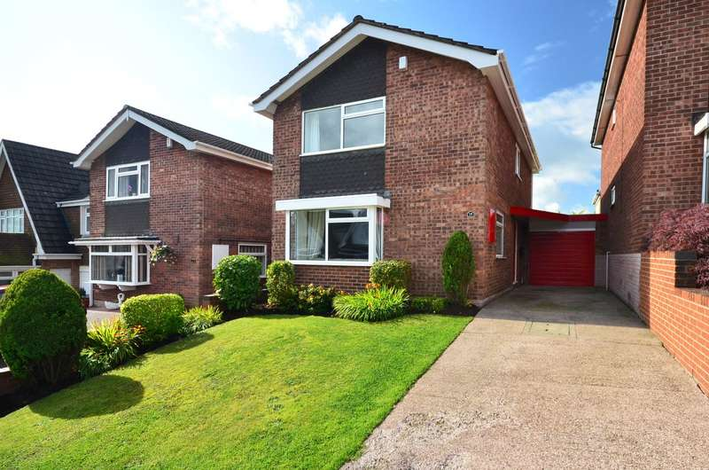 3 Bedrooms Detached House for sale in Yarnfield Close, Meir, ST3 6RR