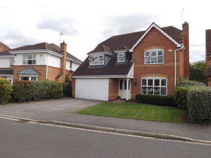 4 Bedrooms Detached House for sale in Belfry Way, Edwalton, Nottingham, Nottinghamshire