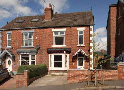 4 Bedrooms Semi Detached House for sale in Newlyn Road, Sheffield, South Yorkshire