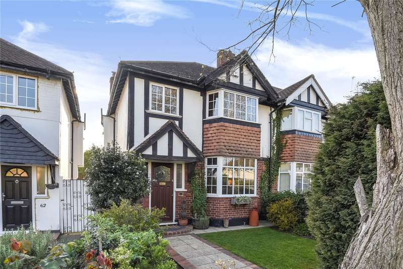 3 Bedrooms Semi Detached House for sale in Pine Gardens, Ruislip, Middlesex, HA4