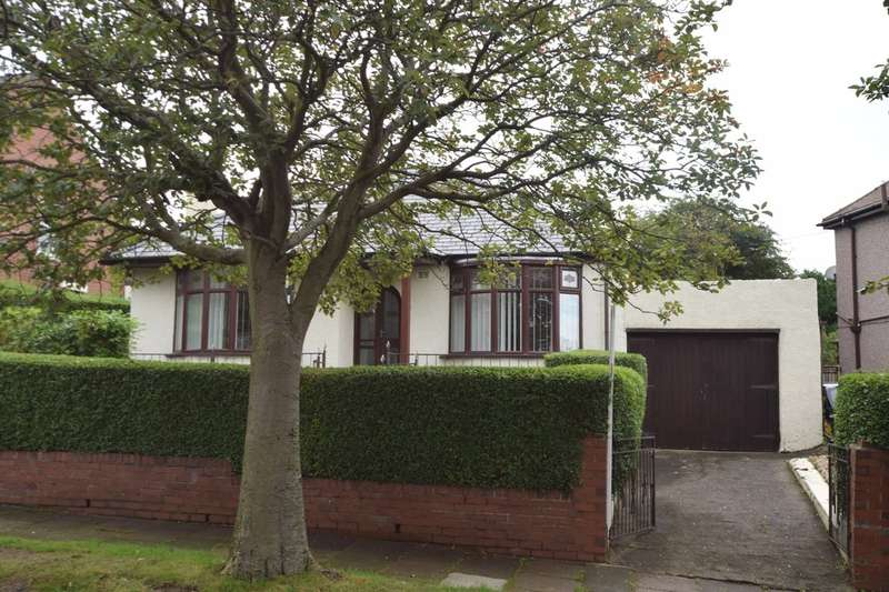3 Bedrooms Detached Bungalow for sale in Cloisters Avenue, Barrow-in-Furness, Cumbria, LA13 0BA