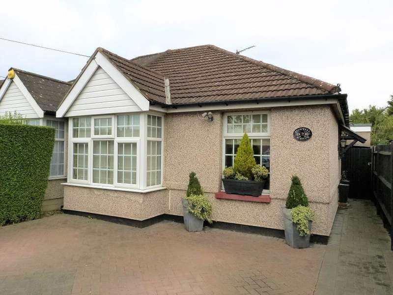 3 Bedrooms Bungalow for sale in Pinkwell Avenue, Hayes, UB3 1NG