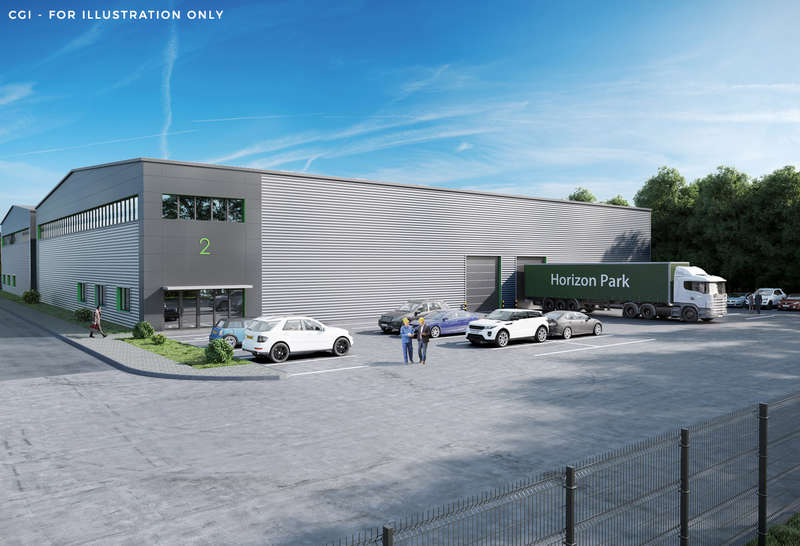 Warehouse Commercial for sale in Unit 3, Horizon Park, Innovation Close, Poole, BH12 4QA