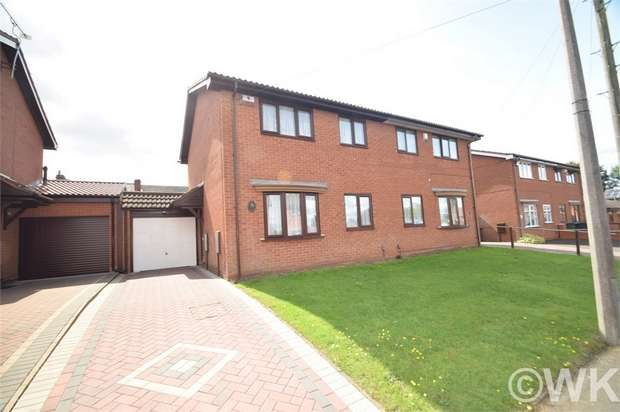 3 Bedrooms Semi Detached House for sale in James Eaton Close, WEST BROMWICH, West Midlands