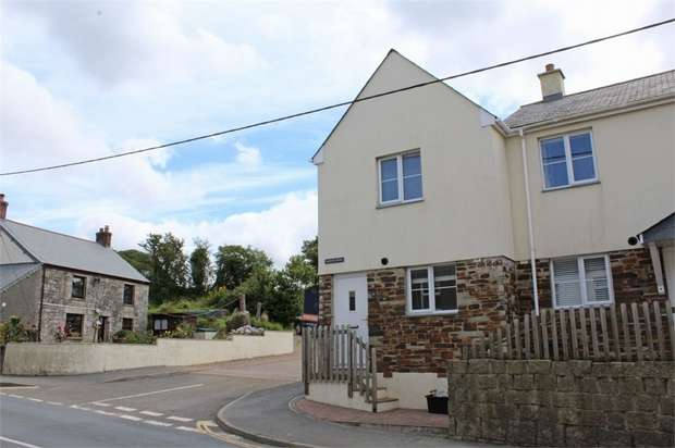2 Bedrooms End Of Terrace House for sale in Wartha Mews, Fraddon, St Columb, Cornwall