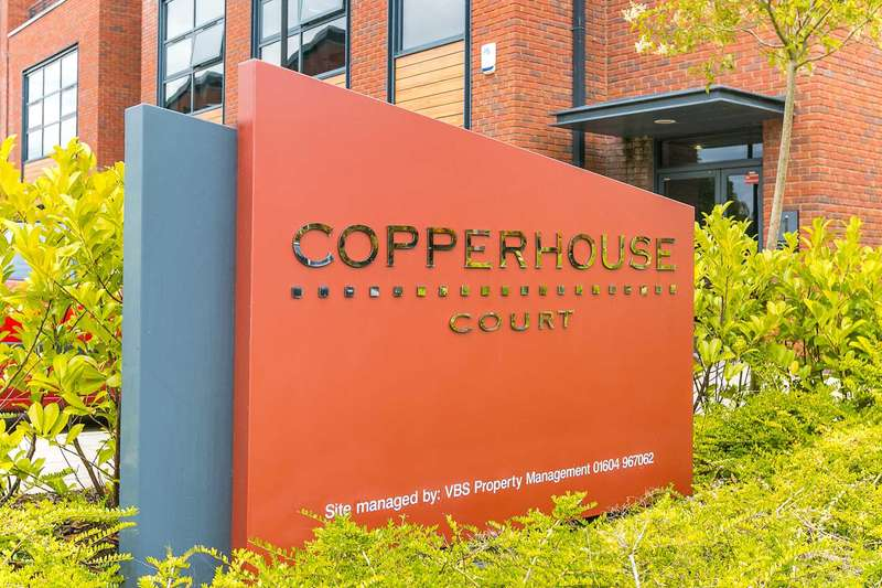 2 Bedrooms Apartment Flat for sale in Copperhouse Court, Caldecotte