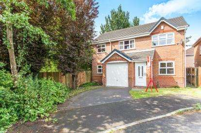 4 Bedrooms Detached House for sale in Stewerton Close, Golborne, Warrington, Cheshire