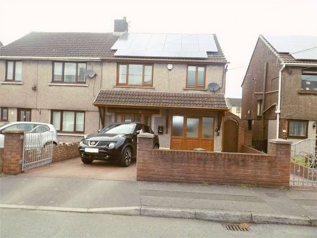 3 Bedrooms Semi Detached House for sale in Prince Street, Margam, Port Talbot, West Glamorgan