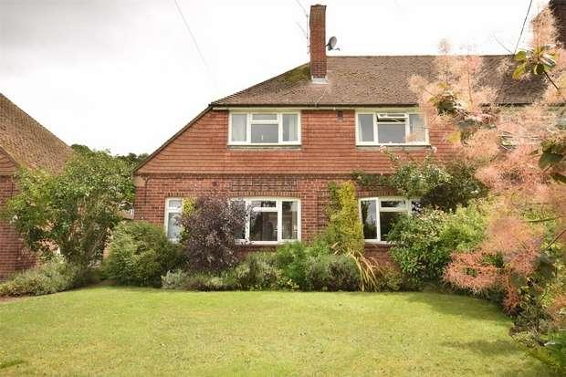 3 Bedrooms Semi Detached House for sale in Grange Road, St Marys Platt, Sevenoaks, Kent