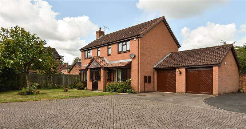 4 Bedrooms Detached House for sale in Planetree Close, BROMSGROVE