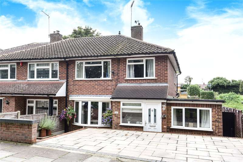 3 Bedrooms Semi Detached House for sale in Uxbridge Road, Mill End, Rickmansworth, Hertfordshire, WD3
