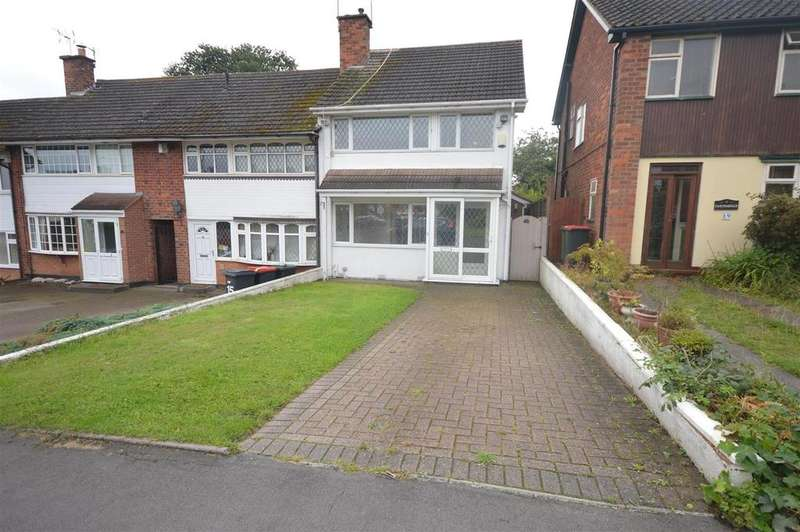 2 Bedrooms End Of Terrace House for sale in Norton Road, Birmingham