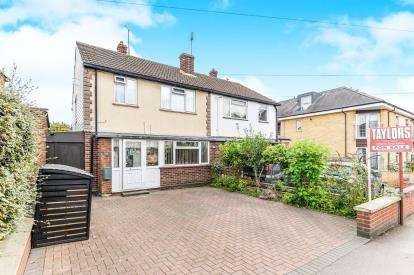 3 Bedrooms Semi Detached House for sale in Grove Road, Hitchin, Hertfordshire, England