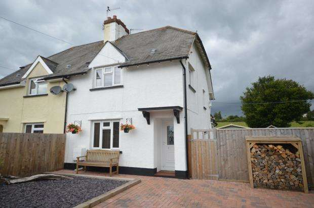 2 Bedrooms Semi Detached House for sale in Burrow Close, Newton Poppleford, Sidmouth