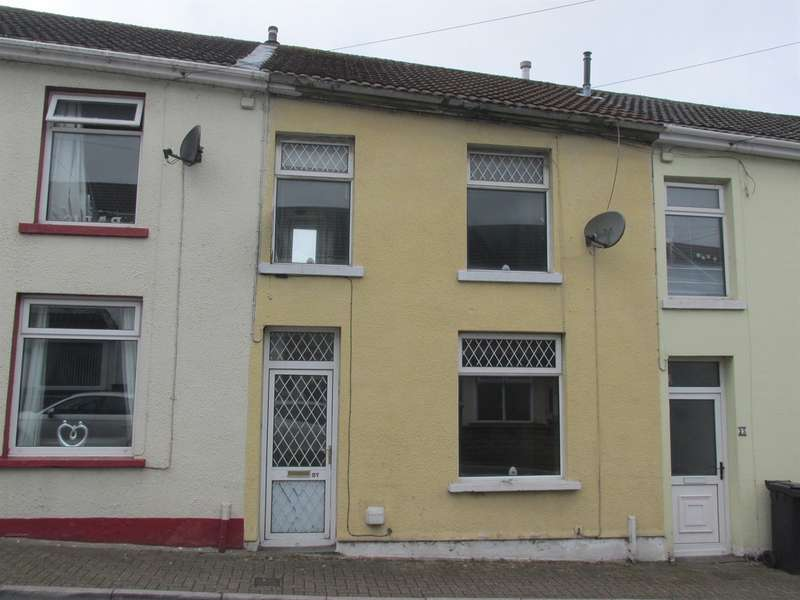 3 Bedrooms Terraced House for sale in Baden Terrace, Penyard, Merthyr Tydfil