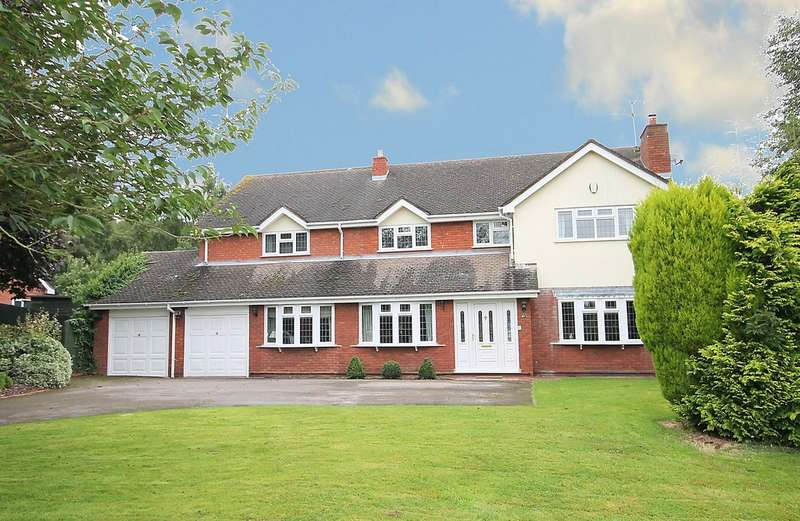 5 Bedrooms Detached House for sale in Nursery Lane, Hopwas, Tamworth B78 3AS
