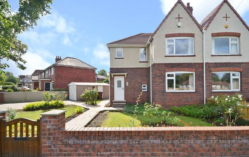 3 Bedrooms Semi Detached House for sale in Thornes Road, Wakefield