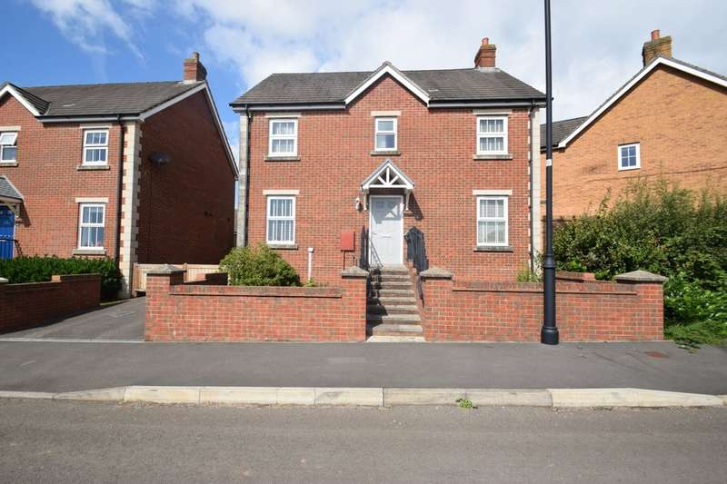 4 Bedrooms Detached House for sale in 2 Cae Rhedyn, Coity, Bridgend, Bridgend County Borough, CF35 6AQ.