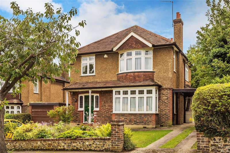 4 Bedrooms Detached House for sale in Yew Tree Walk, Purley, CR8
