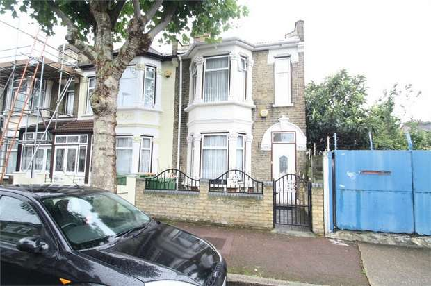 3 Bedrooms End Of Terrace House for sale in Byron Avenue, Manor Park, London