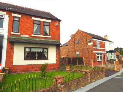 4 Bedrooms Semi Detached House for sale in Lodge Lane, Warrington, Cheshire