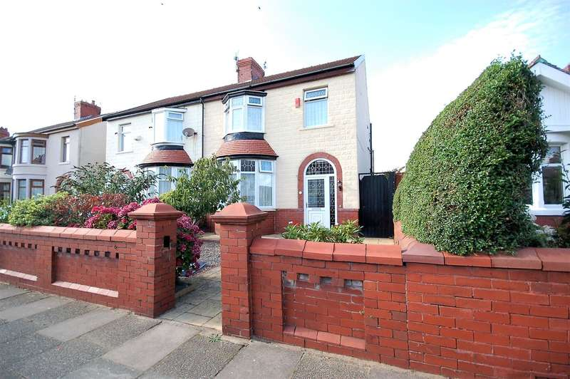 3 Bedrooms Semi Detached House for sale in Bournemouth Road, Blackpool