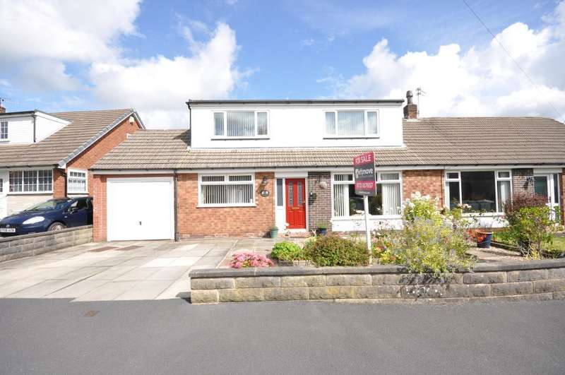 4 Bedrooms Semi Detached Bungalow for sale in Rutland Avenue, Freckleton, Preston, Lancashire, PR4 1HL
