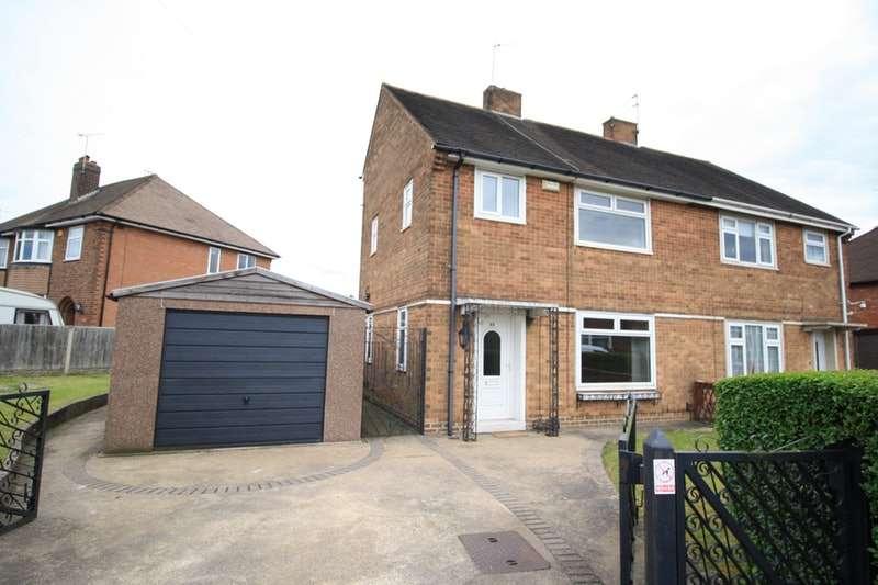 3 Bedrooms Semi Detached House for sale in 33 Breedon Avenue, Littleover, Littleover, Derby, Derbyshire, DE23