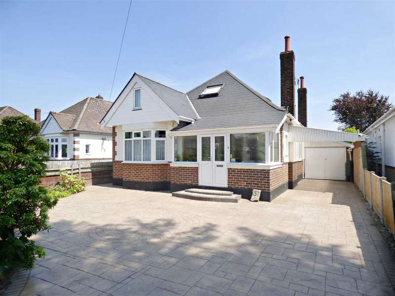 3 Bedrooms Detached Bungalow for sale in TAKE A LOOK AT THE FLOORPLAN TO APPRECIATE THE SIZE OF THIS CHALET BUNGALOW - NORTHBOURNE
