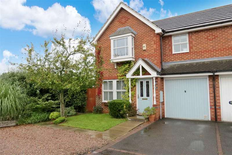 3 Bedrooms Semi Detached House for sale in Sheldrake Road, Sleaford