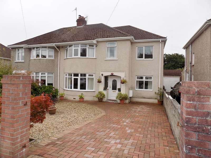 4 Bedrooms Semi Detached House for sale in Oaklands Road, Bridgend. CF31 4SU