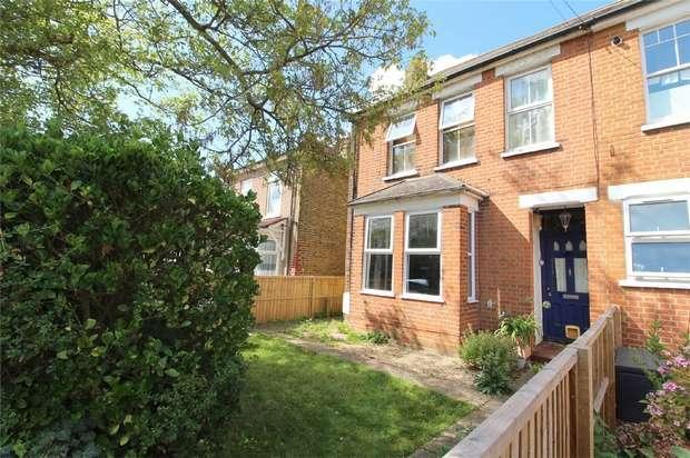 2 Bedrooms Maisonette Flat for sale in Gordon Road, Ashford, Middlesex