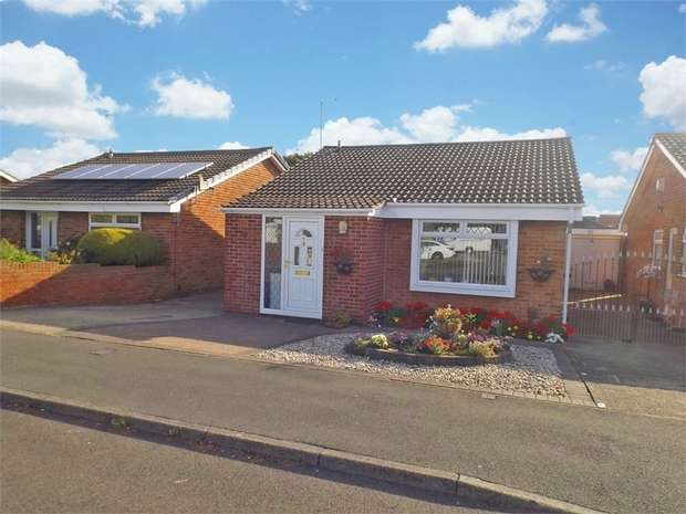 2 Bedrooms Detached Bungalow for sale in Woodside, Redcar, North Yorkshire
