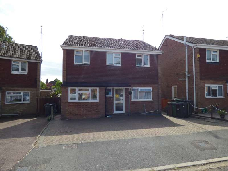 4 Bedrooms Detached House for sale in St Bernards Close, Luton