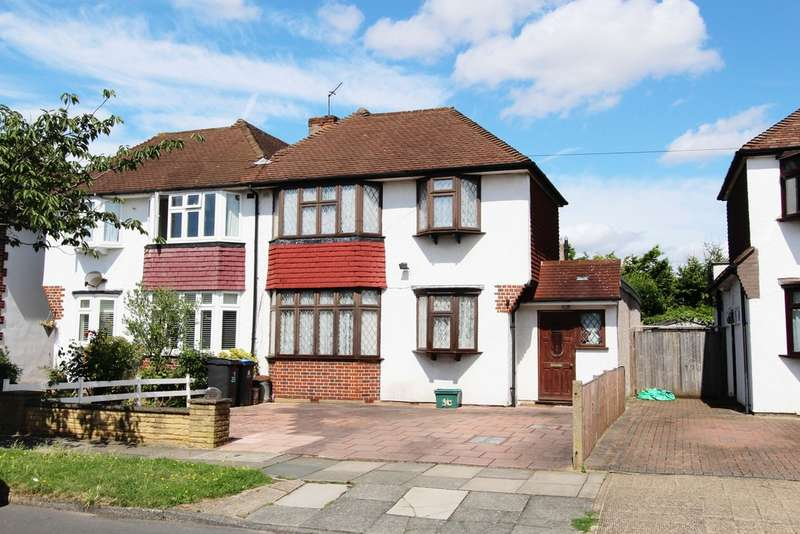 4 Bedrooms Semi Detached House for sale in Van Dyck Avenue, New Malden