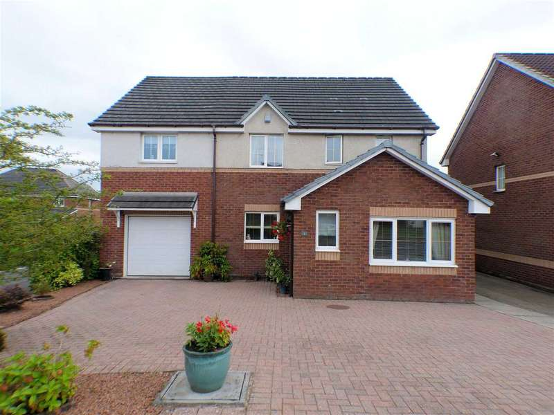 4 Bedrooms Detached House for sale in Strathblane Drive, Hairmyres, EAST KILBRIDE