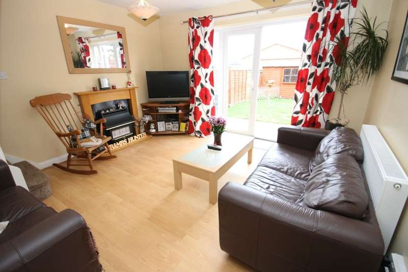 2 Bedrooms Terraced House for sale in Gamekeepers Drive, Worcester, WR4