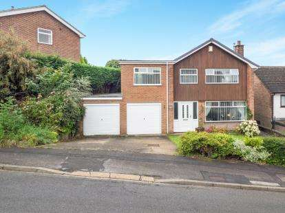 4 Bedrooms Detached House for sale in Middlebeck Drive, Arnold, Nottingham