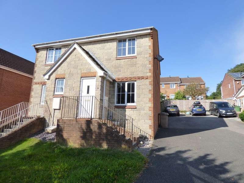 2 Bedrooms Semi Detached House for sale in Newnham Downs, Plympton