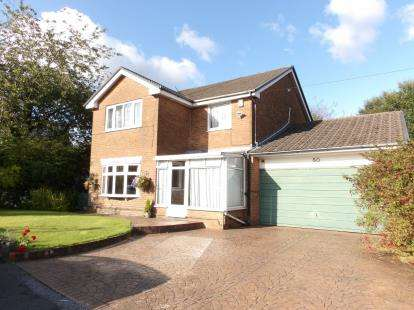 4 Bedrooms Detached House for sale in Langham Close, Sharples, Bolton, Greater Manchester